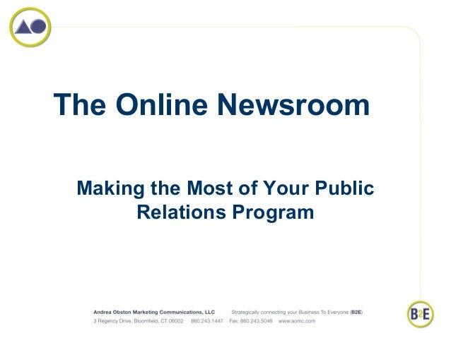 The Online Newsroom