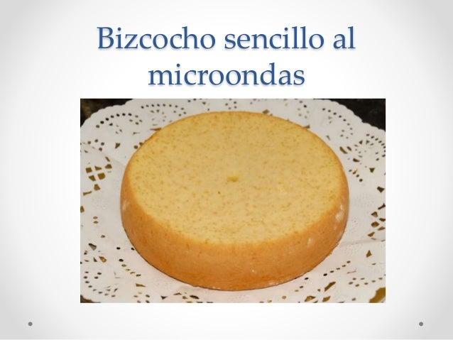 Bizcocho sencillo al microondas - Bizcocho microondas isasaweis ...
