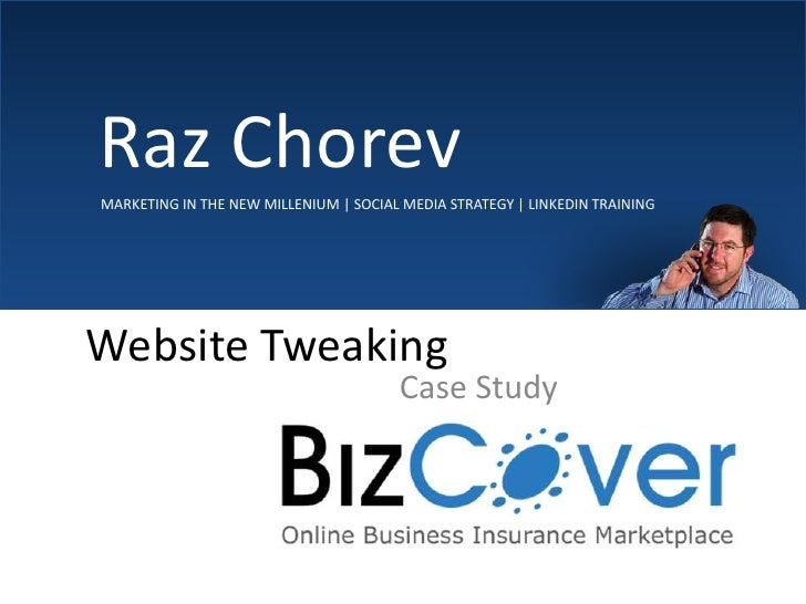 Bizcover – Site Change Over