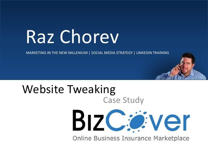 Bizcover – Site Change Over