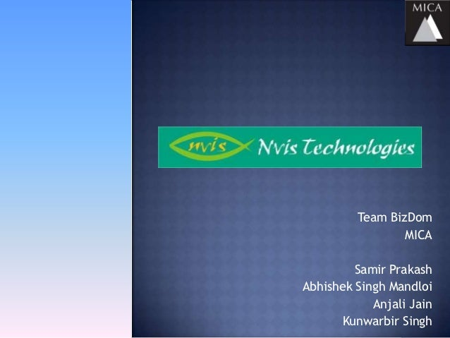 Team BizDom                 MICA         Samir PrakashAbhishek Singh Mandloi            Anjali Jain       Kunwarbir Singh