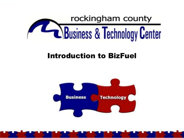 Introduction to BizFuelPage 1