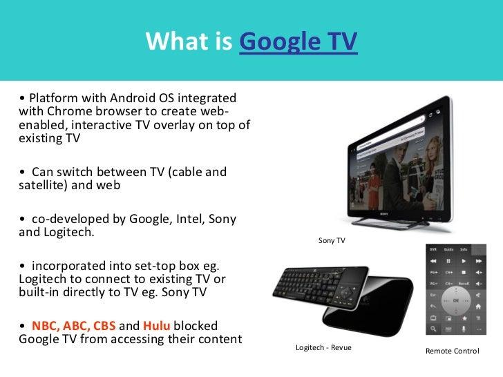 Biz model for google tv