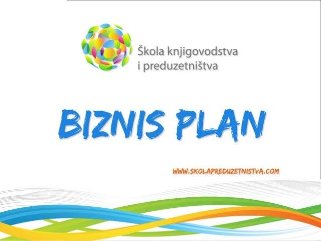 Kako napraviti kvalitetan biznis plan