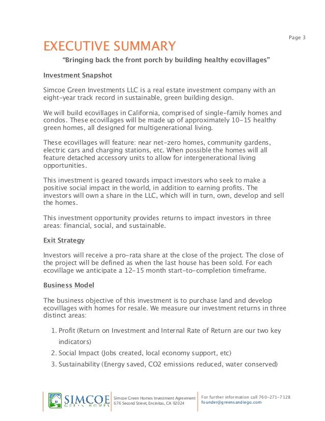 real estate business plan for kenya