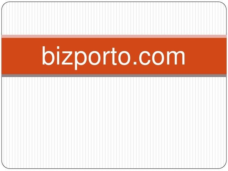 bizporto: World's Most Unique B2B Product Search Engine