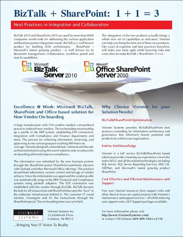 BizTalk 2010 and SharePoint 2010 - Next Practices in Integration and Collaboration