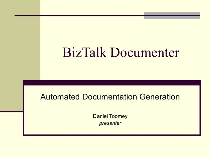BizTalk Documenter