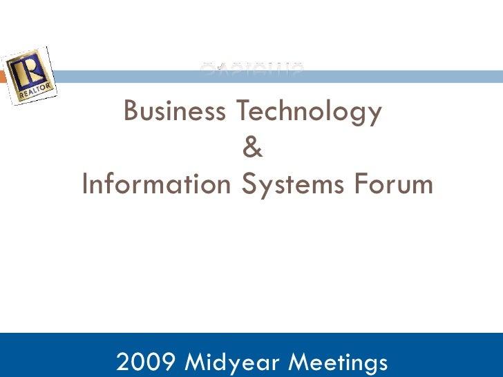 Biz Tech & Info Systems Forum Template[1]