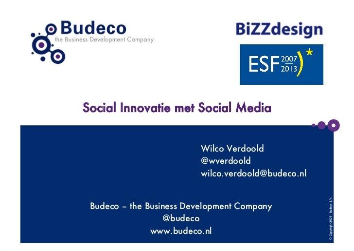 Social Sales voor Bizzdesign