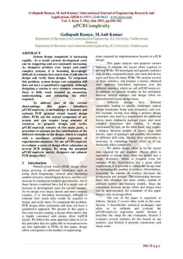 Gollapudi Ramya, M.Anil Kumar / International Journal of Engineering Research andApplications (IJERA) ISSN: 2248-9622 www....