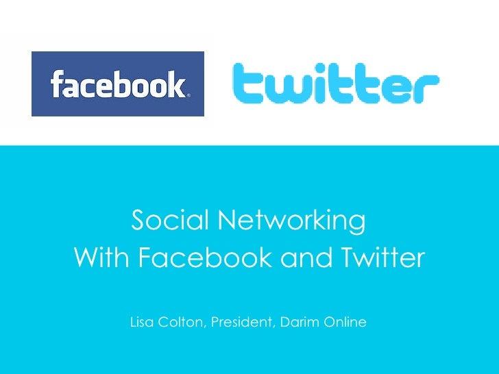 Darim Presents Facebook&Twitter For JCPSC