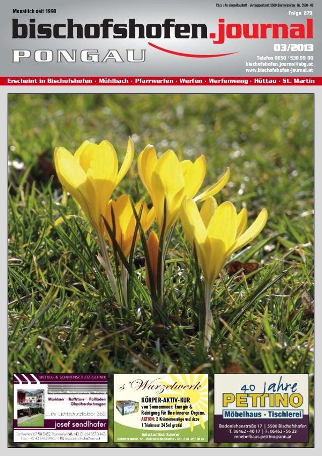 P.b.b / An einen Haushalt · Verlagspostamt: 5500 Bischofshofen · Nr. 5500 - 02 Monatlich seit 1990                        ...
