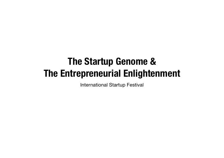 Startupfest 2012 - The age of entrepreneurial enlightenment