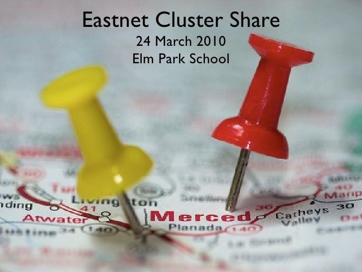 Eastnet Cluster Share       24 March 2010      Elm Park School