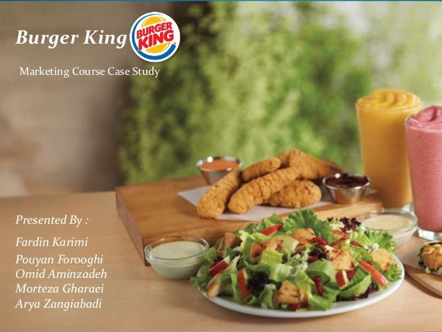 burger king marketing strategy 2018-4-9  an analysis of the international expansion of burger king  an analysis of the international expansion of  burger king supplies the business strategy and aids.