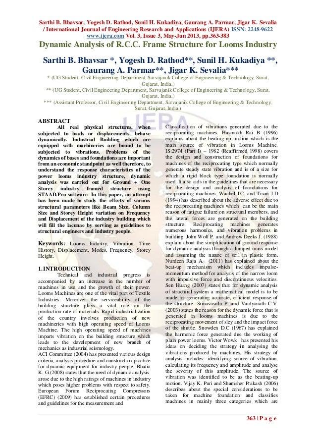 Sarthi B. Bhavsar, Yogesh D. Rathod, Sunil H. Kukadiya, Gaurang A. Parmar, Jigar K. Sevalia/ International Journal of Engi...