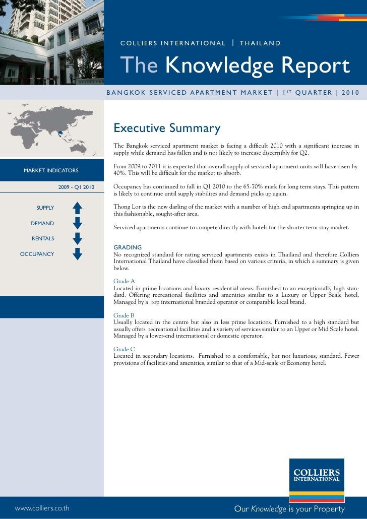 Bkk Serviced Apartment Report Q1 2010