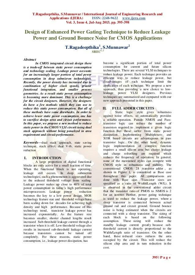 T.Ragadeepthika, S.Munnawar / International Journal of Engineering Research and Applications (IJERA) ISSN: 2248-9622 www.i...