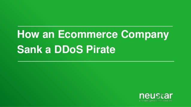 Neustar Helps E-commerce Company Stop DDoS Attacks