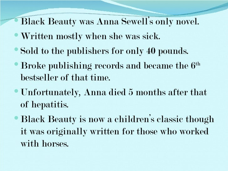 Are there any books on anna sewell???? NOT books she wrote.?