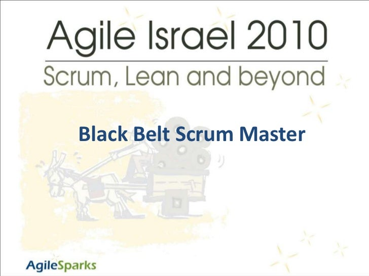 Elad Amit  - Black Belt Scrum Master