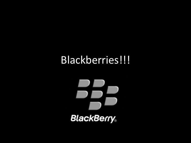 Blackberries!!!