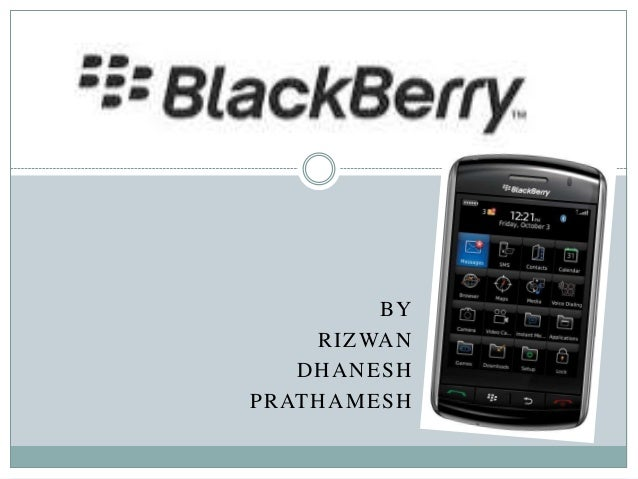 Blackberry-Marketing Strategy