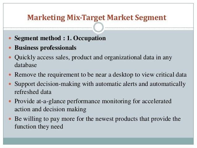 Market Segmentation IPhone and Blackberry Market Segmentation&nbspEssay