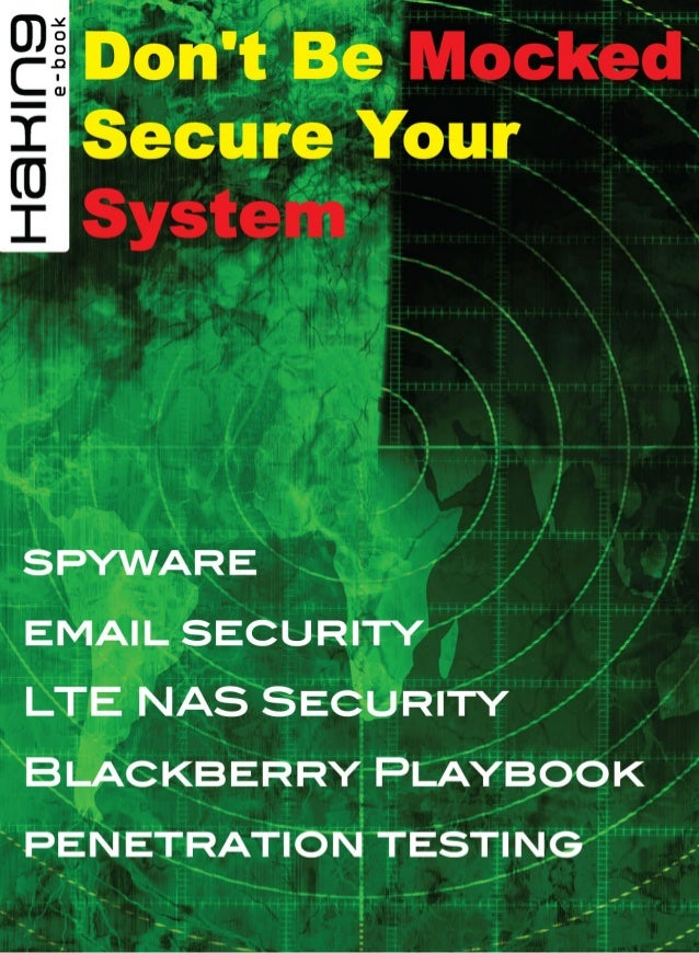 Don't Be Mocked Secure Your System 1 / 108  Chapter 1  BlackBerry Playbook – New Challenges Say your client is charged wit...