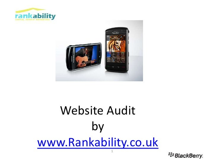 Website Auditbywww.Rankability.co.uk<br />1<br />