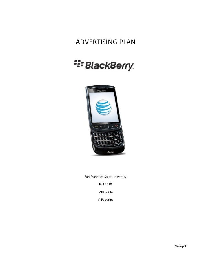 BlackBerry Ad Plan