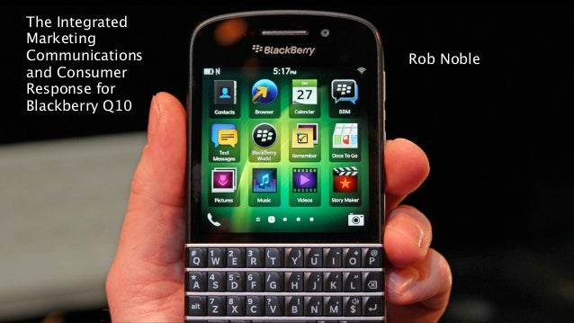 strategic objectives for blackberry Executive summary overview purpose of the report is to assess current strategic position of blackberry in smart-phone industry as you are aware, world.