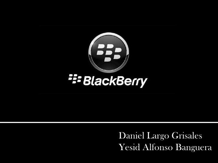 Exposición - BlackBerry OS