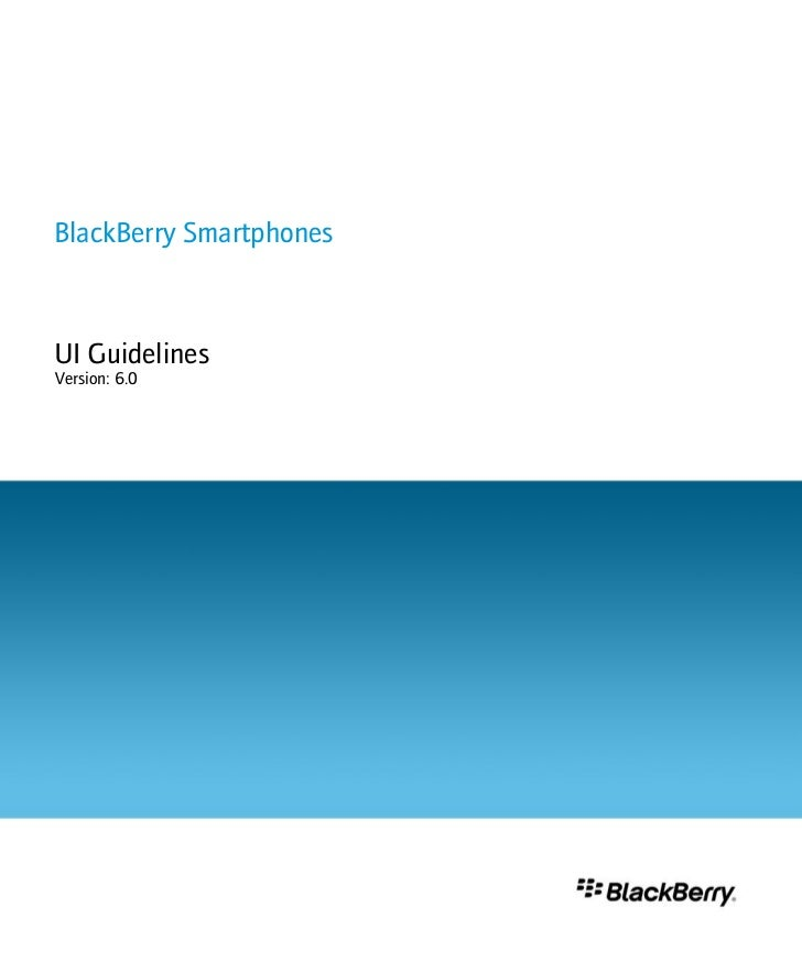 Blackberry v.6.0