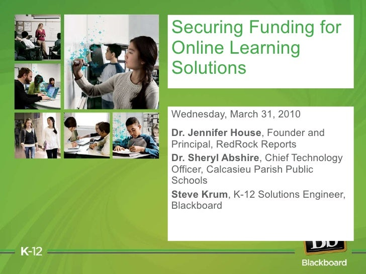 Wednesday, March 31, 2010 Dr. Jennifer House , Founder and Principal, RedRock Reports  Dr. Sheryl Abshire , Chief Technolo...