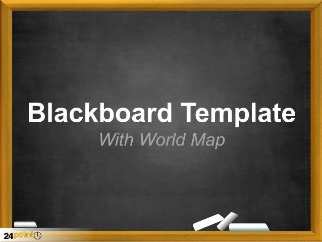 Blackboard Map