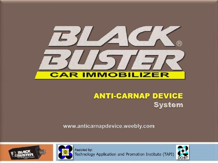 blackbuster-anticarnap-device-presentation