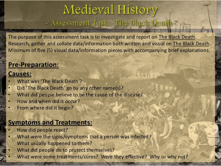 the effect of the black death on europe essay Free essay: name course professor date the causes and effects of the black death the bubonic plague or the black death has been in the history books since.