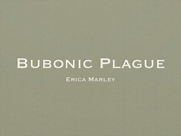 Bubonic Plague    Erica Marley