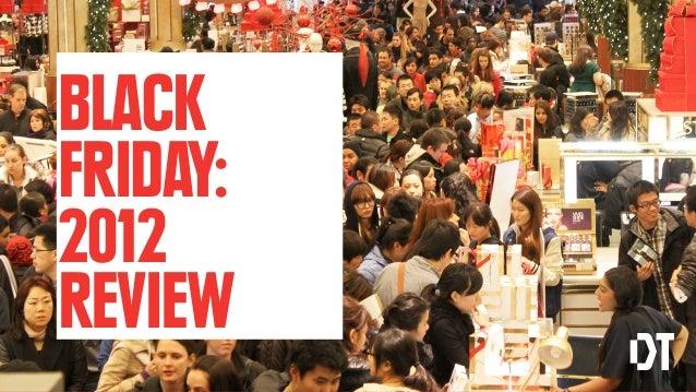 BLACKFRIDAY:2012REVIEW