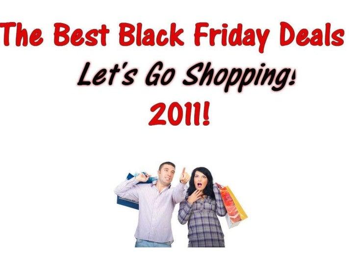Official Black Friday Deals