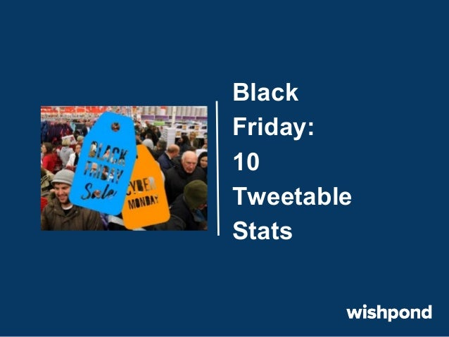 Black Friday: 10 Tweetable Stats