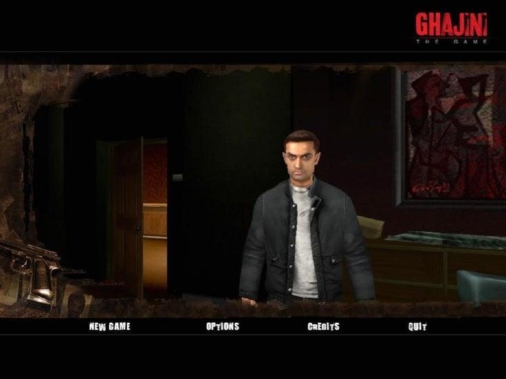 Ghajini - The Game Development