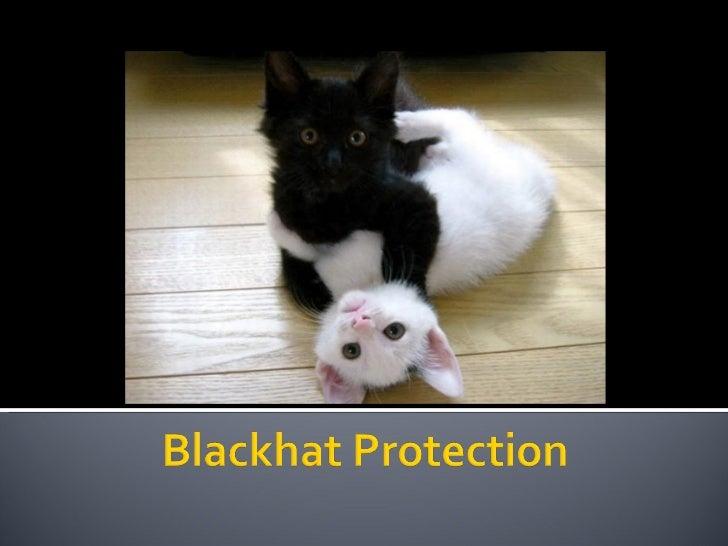 Black Hat Protection - SEO Campixx 2011