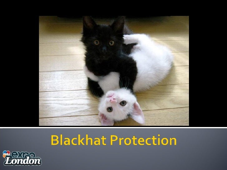Black Hat Protection and Q&A - Andre Alpar, Dominik Wojcik and Ralph Tegtmeier