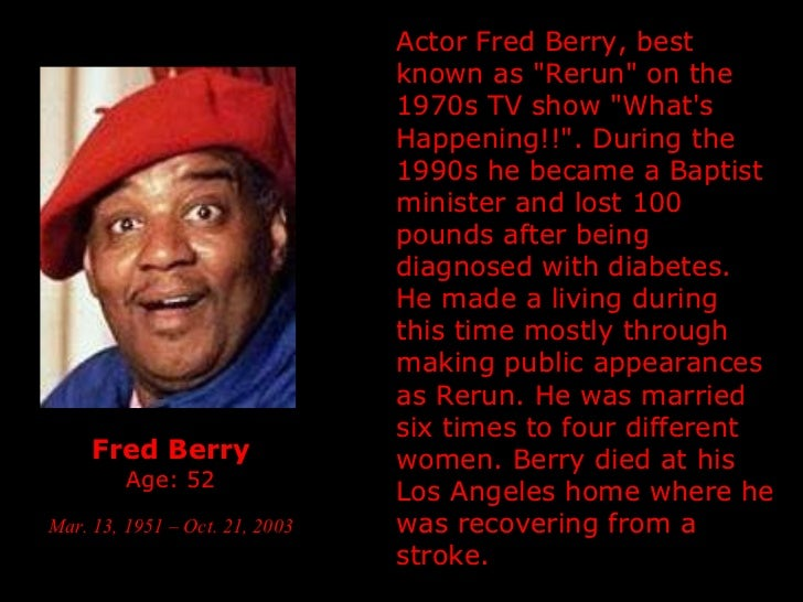Fred Berry Grave Related Keywords & Suggestions - Fred ... Rosetta Lenoire Grave
