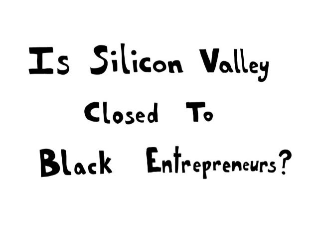 Black in silicon valley