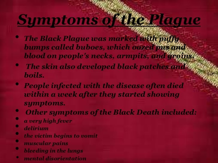 Theories of the Black Death
