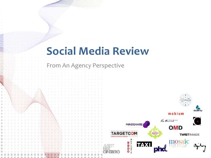 100 Marketing Agencies and Their Own Social Media Use, 2010